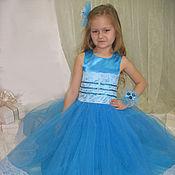 Одежда ручной работы. Ярмарка Мастеров - ручная работа детские платья для праздников иутренников. Handmade.