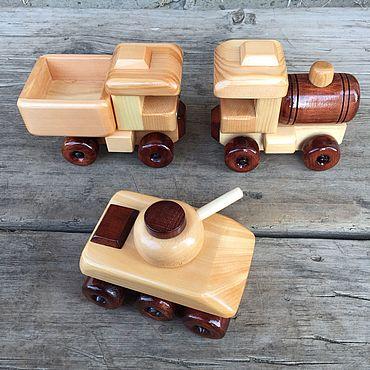 Куклы и игрушки ручной работы. Ярмарка Мастеров - ручная работа Набор мини техники №7 деревянный. Handmade.