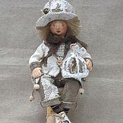 Куклы и игрушки handmade. Livemaster - original item Textile doll