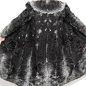 Одежда ручной работы. Ярмарка Мастеров - ручная работа DimGrey и black, свакара ткань, природный шик 110см. Handmade.
