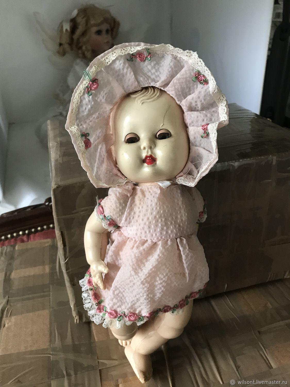 Винтаж: Винтажный пупс малышка Розебуд ,сделано в Англии, Винтажные куклы, Ковентри, Фото №1