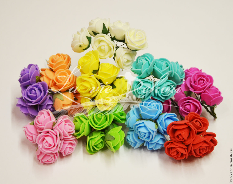 Цветы из латекса купить