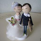 Свадебный салон ручной работы. Ярмарка Мастеров - ручная работа Украшение для свадебного торта. Handmade.