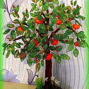 Цветы и флористика handmade. Livemaster - original item Orange and pear trees.. Handmade.