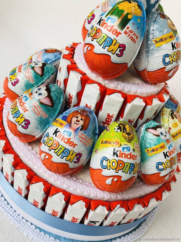 картинки с днем рождения торт из киндеров вида нечистой