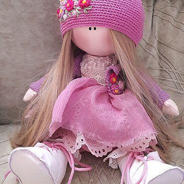 Куклы и игрушки ручной работы. Ярмарка Мастеров - ручная работа Текстильная куколка ручной работы. Handmade.
