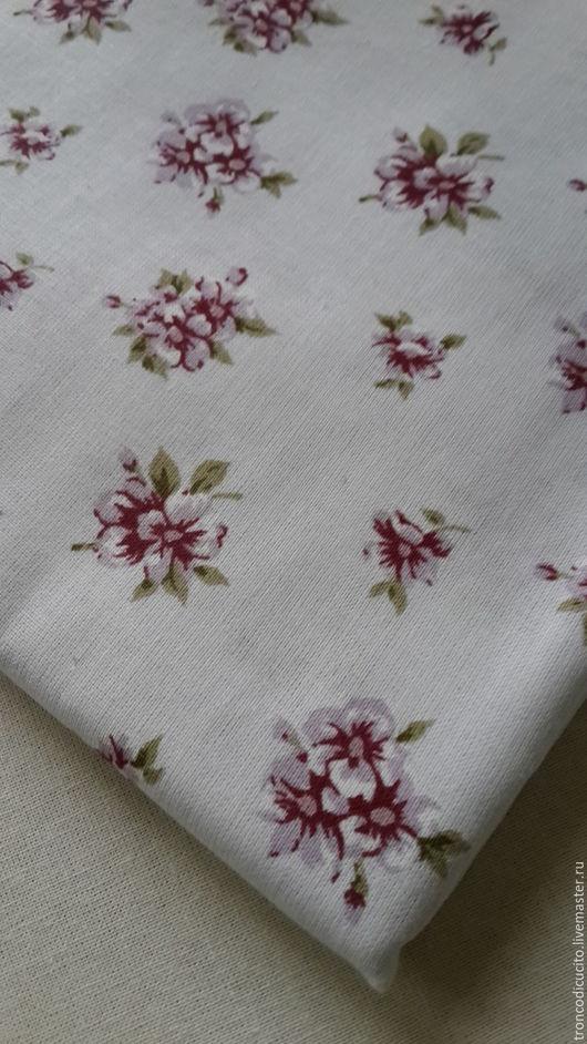 Шитье ручной работы. Ярмарка Мастеров - ручная работа. Купить Ткань в цветочек. Handmade. Комбинированный, ткань, ткань для творчества