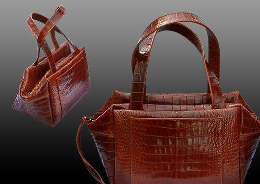 """Женские сумки ручной работы. Ярмарка Мастеров - ручная работа. Купить """"На каждый день"""". Handmade. Сумка, сумка кожаная"""