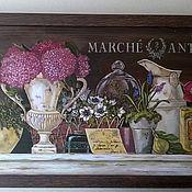 """Картины ручной работы. Ярмарка Мастеров - ручная работа """"Французская лавка"""". Handmade."""
