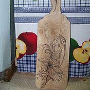 Для дома и интерьера handmade. Livemaster - original item Cutting Board