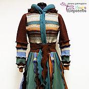 """Одежда ручной работы. Ярмарка Мастеров - ручная работа Лоскутное пальто """"Апрель"""". Handmade."""