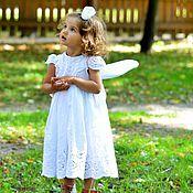 Работы для детей, ручной работы. Ярмарка Мастеров - ручная работа Кружевное платье принцeссы. Handmade.