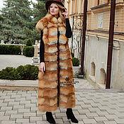 Одежда handmade. Livemaster - original item Fur vest red Fox. Handmade.