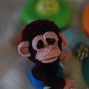 """Материалы для творчества ручной работы. Ярмарка Мастеров - ручная работа Мастер класс """"Гаврилко""""маленькая обезьянка. Handmade."""