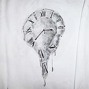 Одежда handmade. Livemaster - original item Sweatshirt, sweatshirt with painted