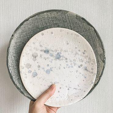 Посуда ручной работы. Ярмарка Мастеров - ручная работа Тарелки. Handmade.