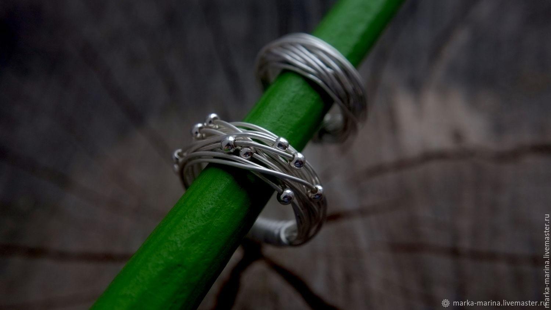 925 silver Snowball ring, Rings, Samara,  Фото №1