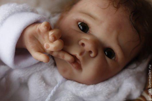 Куклы-младенцы и reborn ручной работы. Ярмарка Мастеров - ручная работа. Купить Сандра. Кукла реборн.. Handmade. Оливковый