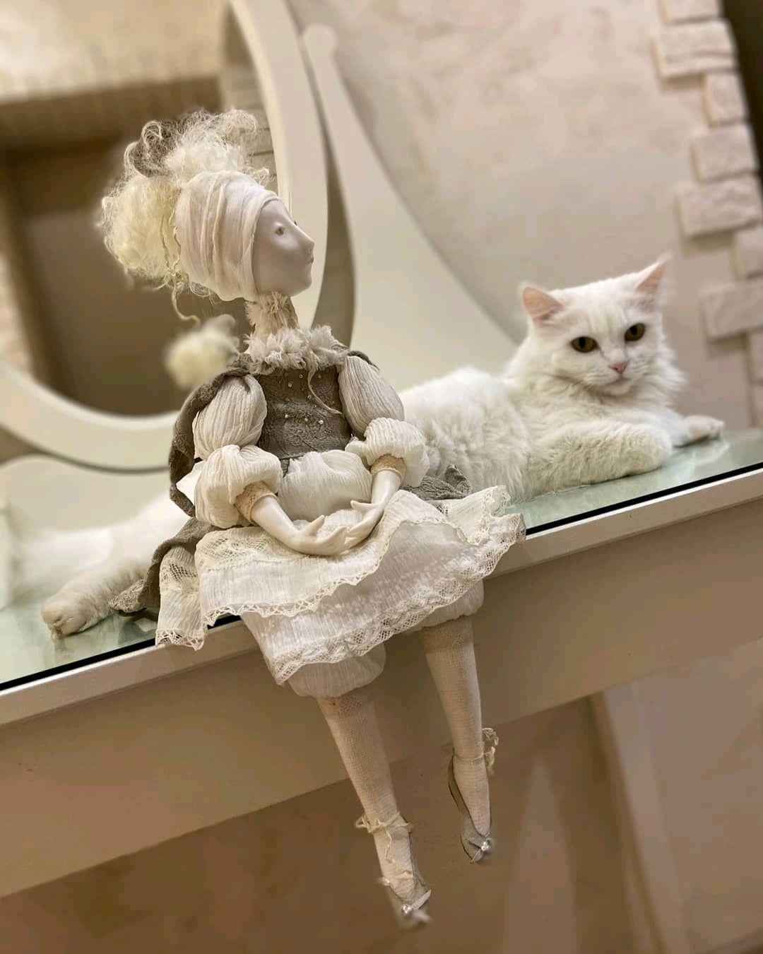 Авторская фарфоровая, подвижная кукла, Куклы и пупсы, Ижевск,  Фото №1