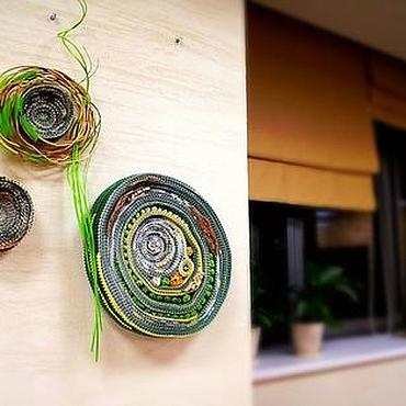 Дизайн и реклама ручной работы. Ярмарка Мастеров - ручная работа Флористические объекты 2  Круги на воде. Handmade.