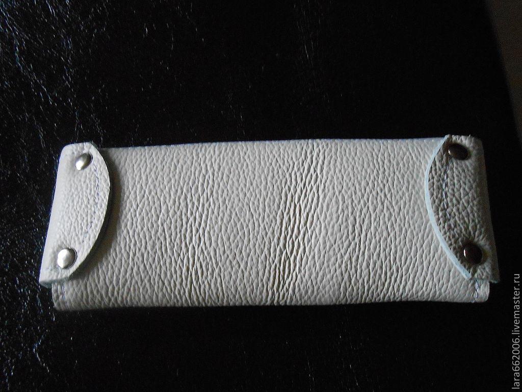 Чехол для  очков  из натуральной кожи (по заказу Надежды)