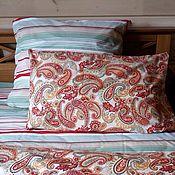 Для дома и интерьера handmade. Livemaster - original item Bed linen Firebird. Handmade.