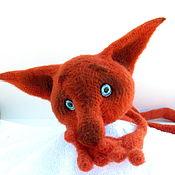 Куклы и игрушки handmade. Livemaster - original item Toys: Crocheted red Fox cub. Handmade.