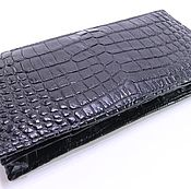 Сумки и аксессуары handmade. Livemaster - original item Purse from crocodile skin, the inner filling is made of crocodile skin. Handmade.