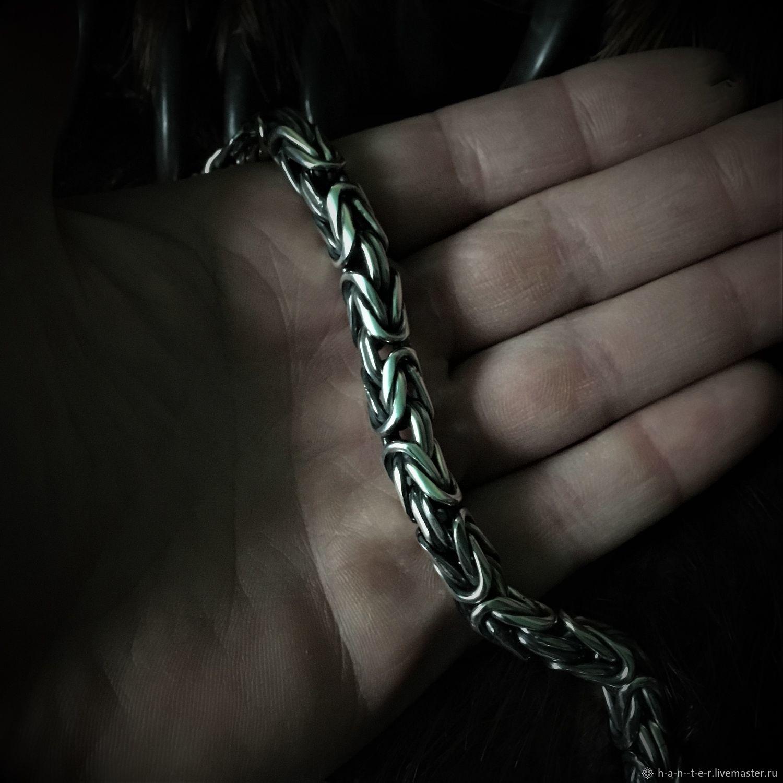 Chain 'Fox Tail' (9 mm), Chain bracelet, Kostroma,  Фото №1