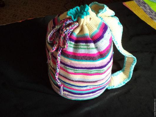Рюкзаки ручной работы. Ярмарка Мастеров - ручная работа. Купить Рюкзак. Handmade. Комбинированный, аксессуары ручной работы