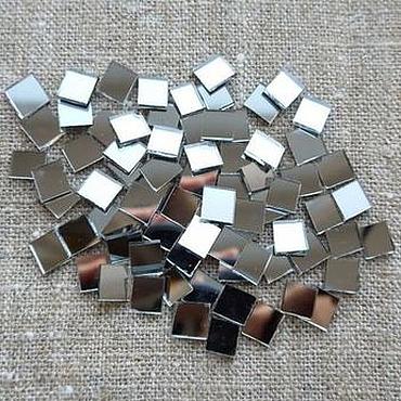 Материалы для творчества ручной работы. Ярмарка Мастеров - ручная работа Зеркало для мозаики, зеркальная мозаика (набор 100 шт). Handmade.