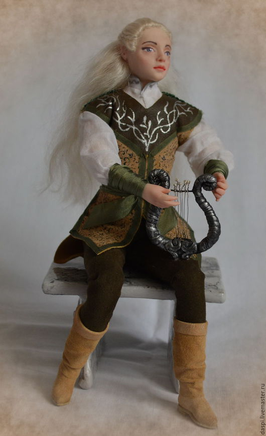 Коллекционные куклы ручной работы. Ярмарка Мастеров - ручная работа. Купить авторская кукла Эльф. Handmade. Эльф, коллекционная кукла
