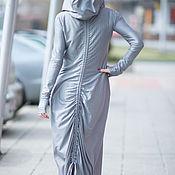Одежда ручной работы. Ярмарка Мастеров - ручная работа Платье, Платье в пол, Платье с капюшоном, Платья ЕУГ. Handmade.