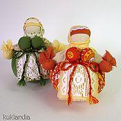Куклы и игрушки ручной работы. Ярмарка Мастеров - ручная работа Кубышка-травница, русская народная кукла-оберег на здоровье. Handmade.
