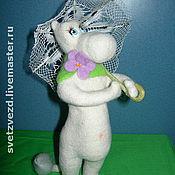 Куклы и игрушки ручной работы. Ярмарка Мастеров - ручная работа Под зонтом. Handmade.