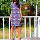 Платья ручной работы. Платье геометрия. Ирина. Ярмарка Мастеров. Фото №4