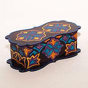 Для дома и интерьера ручной работы. Ярмарка Мастеров - ручная работа Лаковая шкатулка Фивы. Handmade.