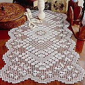 Для дома и интерьера handmade. Livemaster - original item Carpet lace, hand embroidery, Gorky guipure. Handmade.