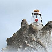 """Украшения ручной работы. Ярмарка Мастеров - ручная работа Кулон """"Там, где сердце"""". Handmade."""