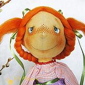 """Куклы и игрушки ручной работы. Ярмарка Мастеров - ручная работа """"Веснушка"""", кукла-матрешка. Handmade."""