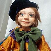 Куклы и игрушки ручной работы. Ярмарка Мастеров - ручная работа Юный художник. Handmade.