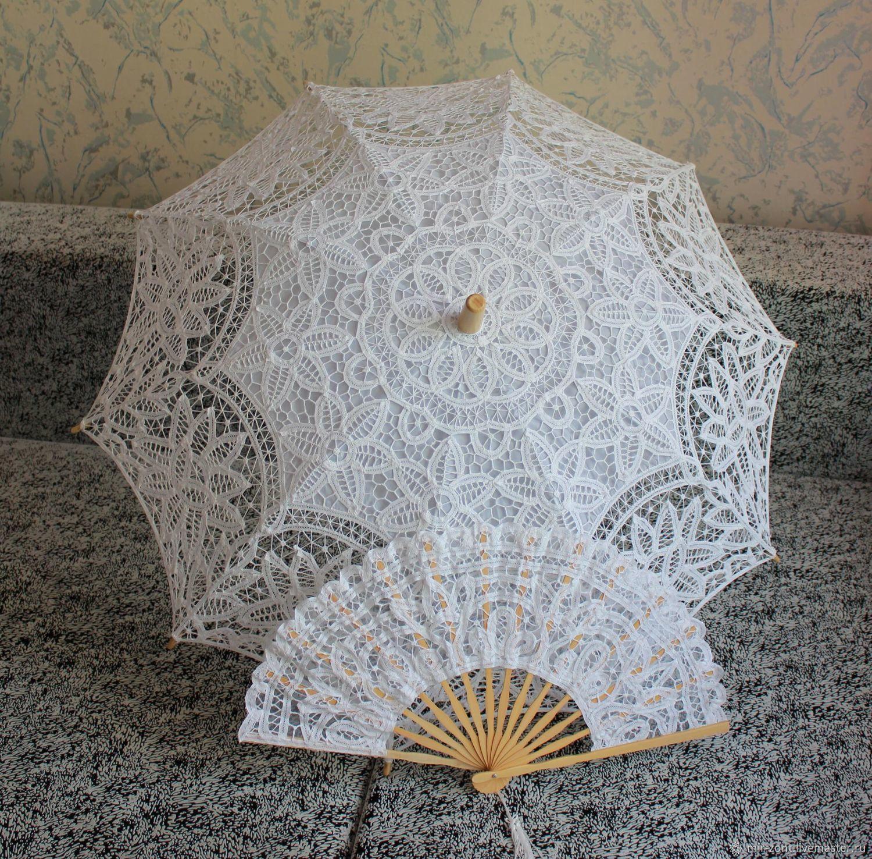Кружевной зонт №16, Зонты, Волжский,  Фото №1