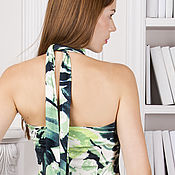 """Dresses handmade. Livemaster - original item Summer long sundress """"CV"""". Handmade."""