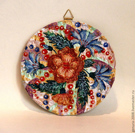Картины цветов ручной работы. Ярмарка Мастеров - ручная работа. Купить Цветы. Handmade. Яркое, декоративное панно, Гипсовая заготовка