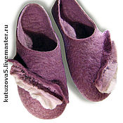 Обувь ручной работы. Ярмарка Мастеров - ручная работа Волшебные тапочки для дома. Handmade.