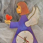 """Для дома и интерьера ручной работы. Ярмарка Мастеров - ручная работа Часы """"Ангел сна"""". Handmade."""