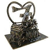 Сувениры и подарки handmade. Livemaster - original item Copper wedding. Handmade.