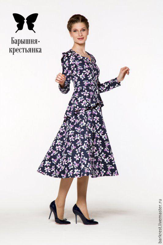 Православное платье из хлопка