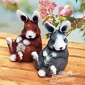 Косметика ручной работы handmade. Livemaster - original item Soap Funny rabbit Easter buy as a gift Easter for children. Handmade.