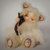 Куклы и игрушки ручной работы. Ярмарка Мастеров - ручная работа Кошечка Маруся,тедди долл. Handmade.